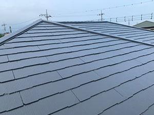 前橋市富士見町 コロニアル屋根塗装