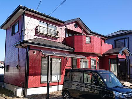 吉岡町 ALC(ヘーベルライト)外壁塗装後