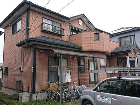 吉岡町 ALC(ヘーベルライト)外壁塗装 施工前