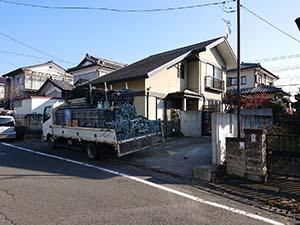 前橋市富士見町 外壁塗装 足場