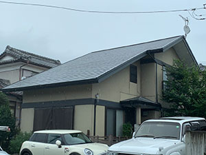 前橋市富士見町 モルタル外壁塗装