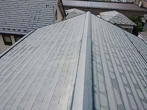 玉村町上新田 ガルバリウム屋根塗装
