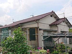 前橋市勝沢町 木製外壁塗装