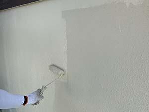 前橋 外壁上塗り