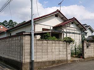 前橋市勝沢町 平屋外壁塗装