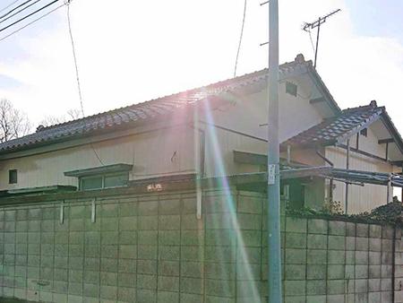 前橋市勝沢町 木製外壁塗装 完工