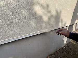 水切り上塗り塗装