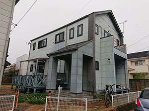 伊勢崎市 サイディング壁塗装・コロニアル屋根塗装