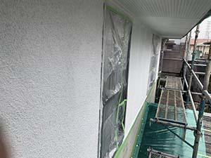 玉村町 壁下塗り