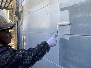 伊勢崎市 外壁下塗り