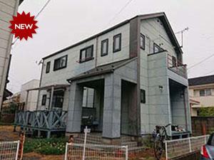 伊勢崎市 窯業系サイディングボード壁と化粧スレート屋根の塗装